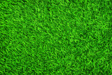 Close up of green artificial grass texture background.