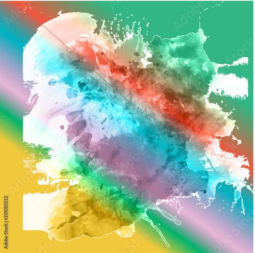vector abstract multicolored background illustration © josemanuel246