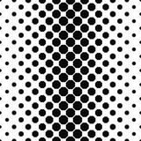 Abstract black white octagon pattern background design
