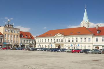 Poland, Malopolska, Oswiecim, Market Square
