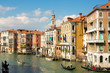 Historic residential buildings on Grand Canal, Venice