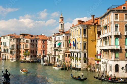 In de dag Venetie Historic residential buildings on Grand Canal, Venice