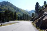 Straße ins Kaunertal
