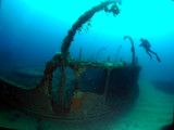 Scuba Diving Malta - Scotscraig Wreck