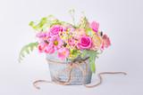 Flower bouquet  -  Vintage look