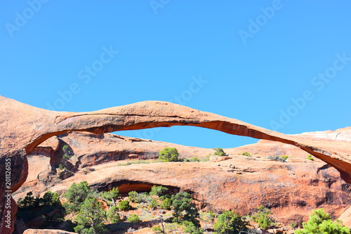 Foto op Aluminium Blauw Geologic Wonders of Arches National Park - Utah