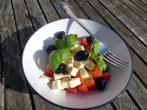 Tomaten Schafskäse Salat - 201133762