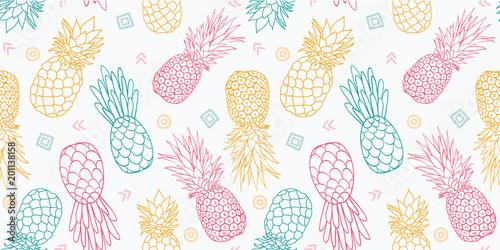 kolorowe-ananasy-wektor-wzor-doskonaly-jako-nadruk-tekstylny-zaproszenie-na-impreze-lub-opakowanie-wzor-powierzchni