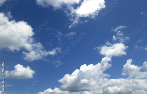 Sky white cloud Abstract