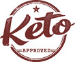 Ketogenic Diet Approved Product Stamp