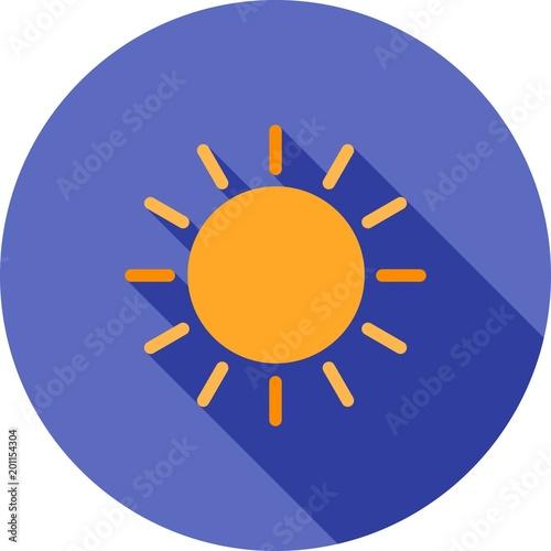 Sun, Heat icon