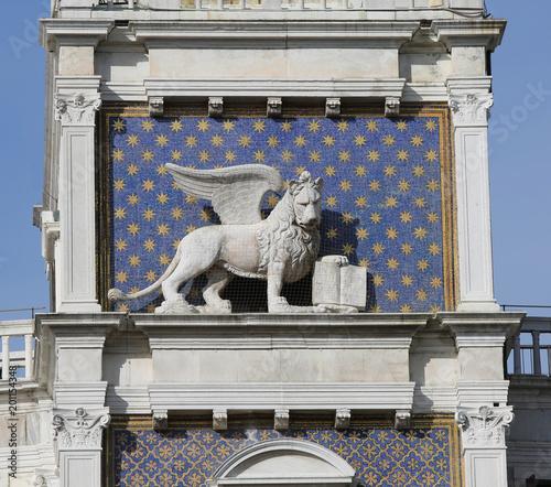 Skrzydlaty lew symbol Wenecji