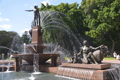 Plexiglas Sydney Hyde Park