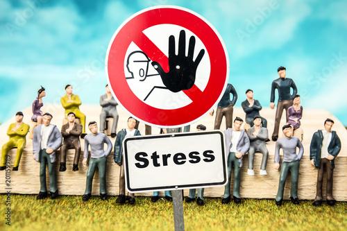 Schild 324 - Stress - 201159989