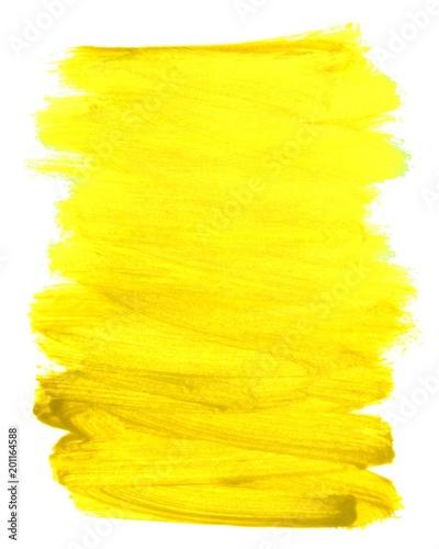 Brudny pomalowany obszar żółty
