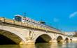 The Pont de Bercy, a bridge over the Seine in Paris, France