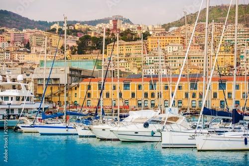 In de dag Liguria Port of Genoa Italy