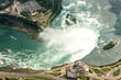 Niagara Falls, Canada. Top view. Picture taken from helicopter