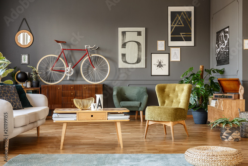 Foto Murales Art collection and bike
