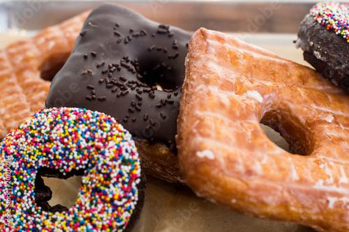Sticker donuts