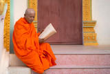 Monks in Thailand are reading books - 201209314