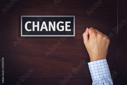 Changes in business, conceptual image
