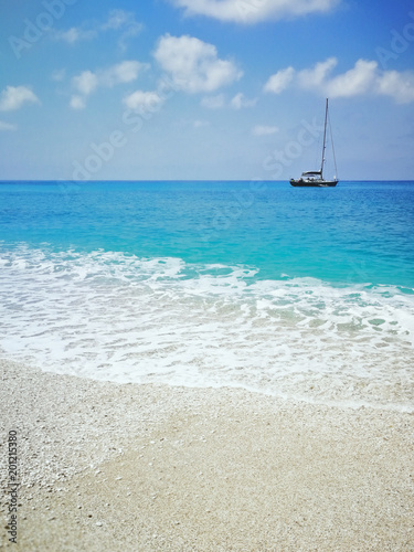 Foto Murales Levkas, Greek island in the Ionian Sea