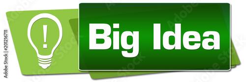 Big Idea Green Side Squares