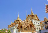 Golden Palace in front of the palace in Thailand. - 201229932