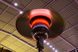 Gas terrace heater or patio heater under high roof - 201237736