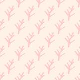 seamless coral pattern - 201244321