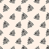 seamless leaf pattern - 201244328