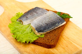 Bread with herring - 201245537