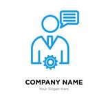 Mobile Phone Analitycs company logo design template - 201258171