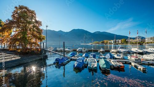Foto Murales Sea Port Yachts Harbor