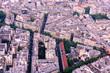 Aerial of Paris Streets 1