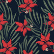 Abstract elegance pattern with floral background. - 201316718