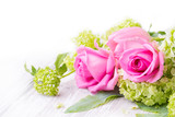 Romantic rose flower bouquet