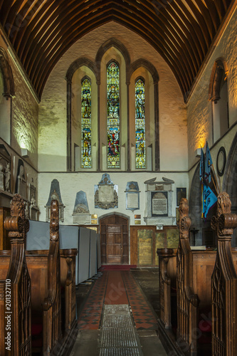 Brecon Cathedral, Wales, UK (Interior) - 201327110