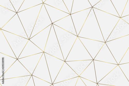 złote tło geometryczne