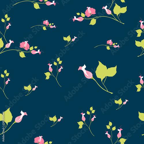 beautiful pink flowers , pattern - 201338544