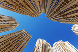 Modern buildings in Dubai UAE - 201339581