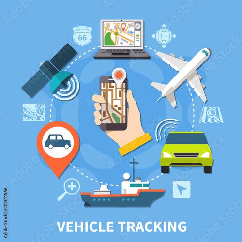 Transport Navigation Round Composition