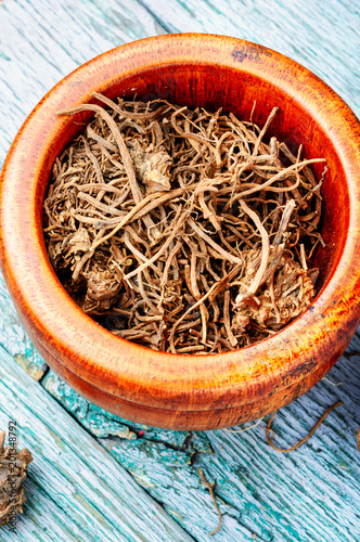 Roots and rhizomes Valerian officinalis
