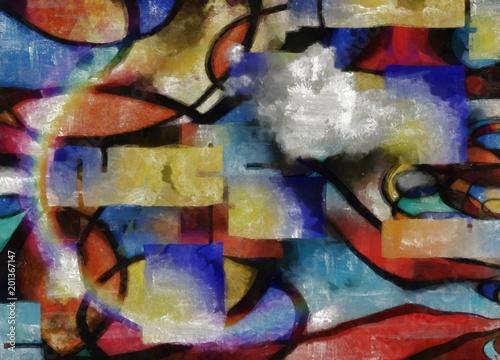 Fototapeta New Mondrian