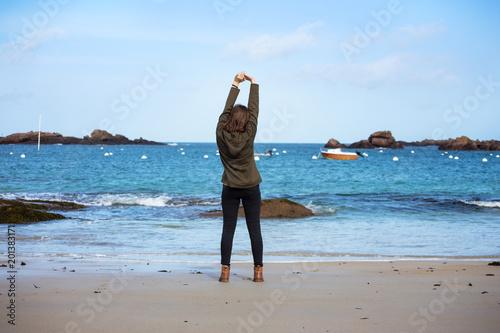 Foto Murales Girl and the Sea