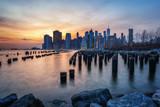 View on Manhattan Skyline