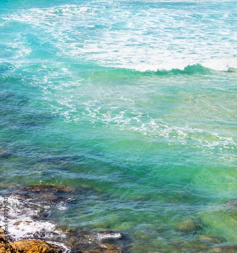 Foto Murales Fundo com água do mar