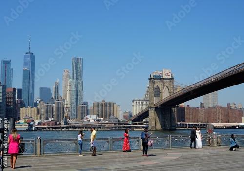 New York City - Manhattan - from Brooklyn