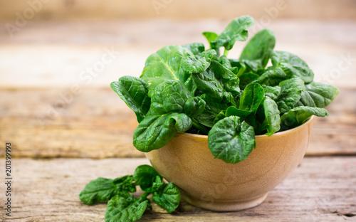 Foto Murales Fresh spinach